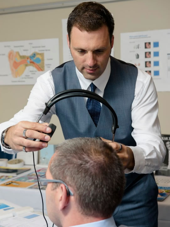 Lee Fletcher, Principal Audiologist at Regain Hearing