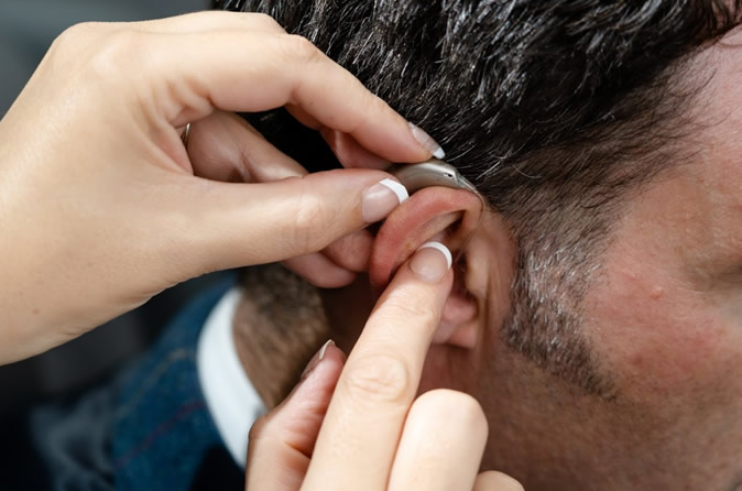 hearing aid insertion