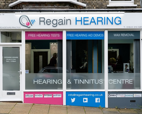 Regain Hearing Clinic in Broadstairs