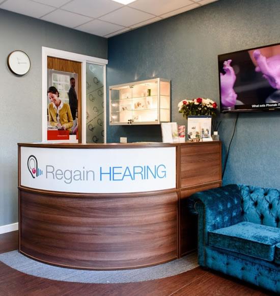 Regain Hearing Reception